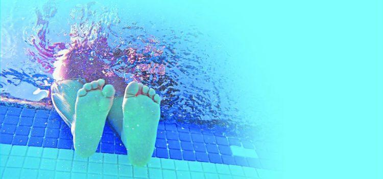 Riesgos de infecciones en los pies en verano