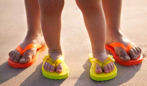 El calzado ideal para la playa