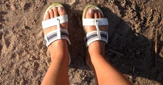 Cuida tus pies tras el verano